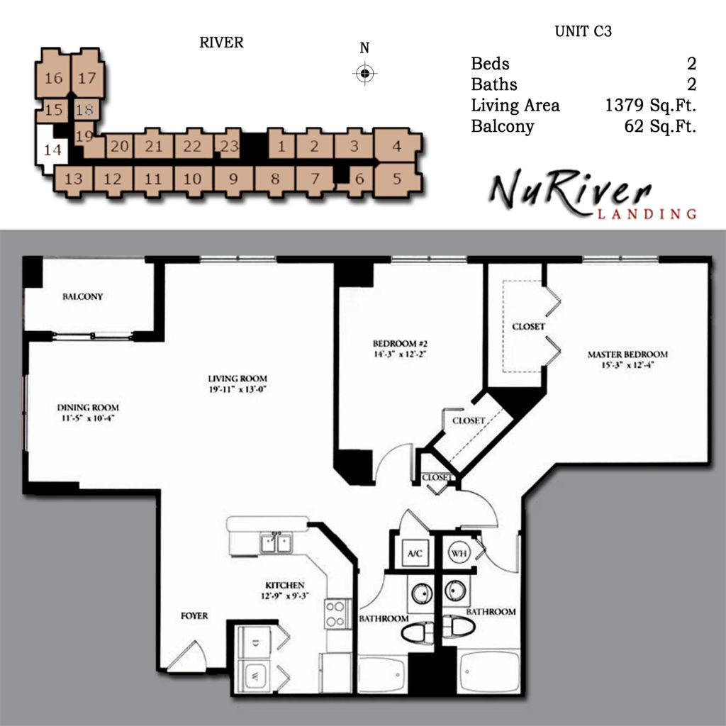 Floor plans welcome to the nu river landing condo for 4 unit condo plans